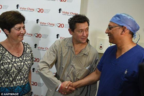 最先接受这项突破性的移植手术的两位患者