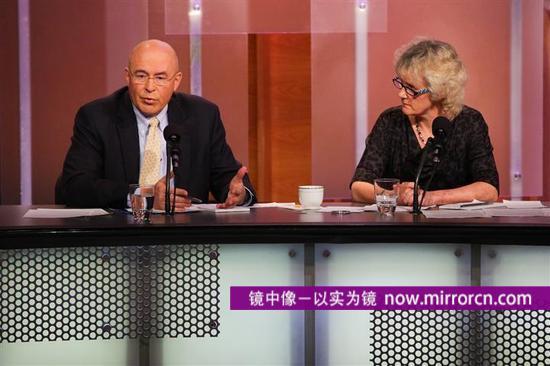 左为弗莱里,右为埃宁纳姆。图片来源:intelligencesquaredus.org