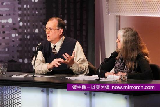 左为本布鲁克,右为梅隆。图片来源:intelligencesquaredus.org